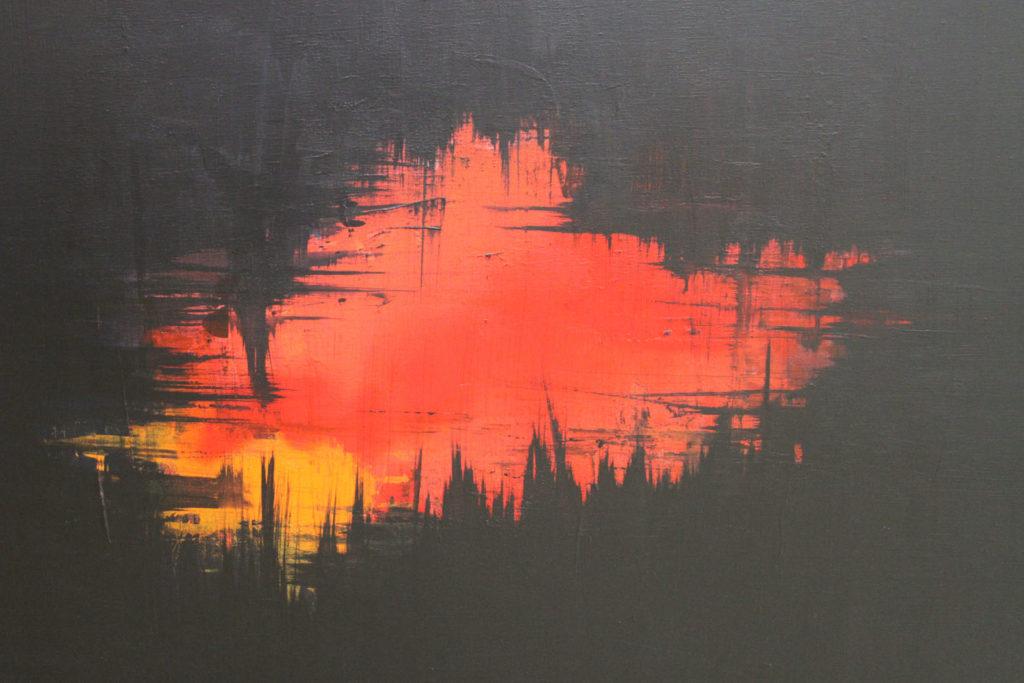 Höhlenfeuer, Detail