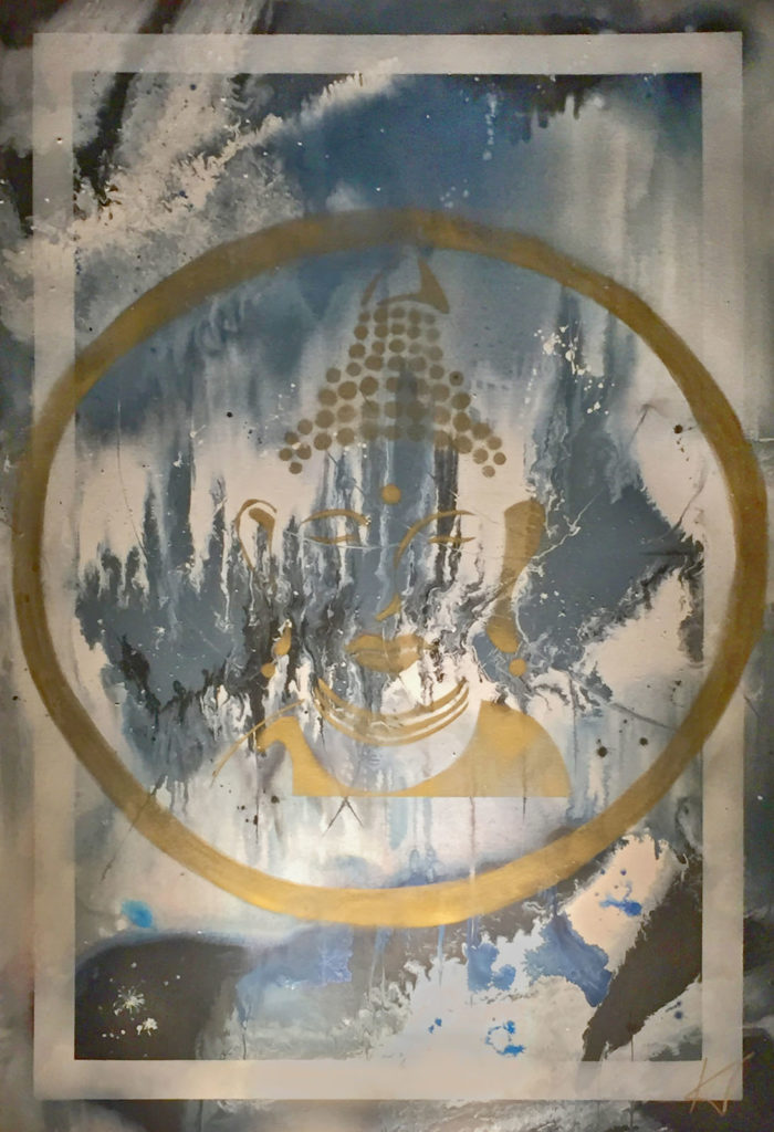 Chris' Buddha, 100x150